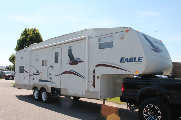2005 Jayco Eagle Fifth Wheel Travel Trailer Series M 305