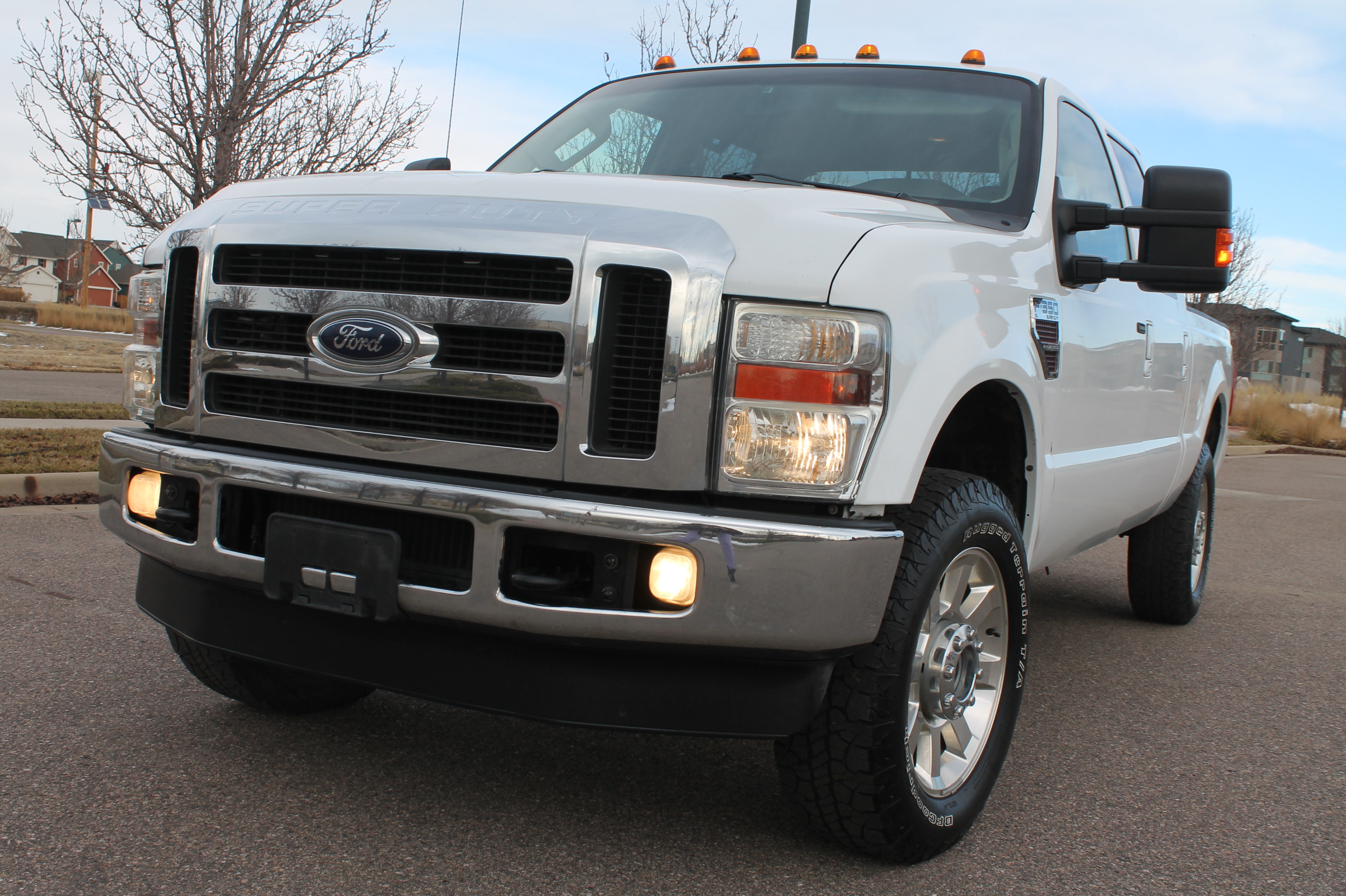2010 ford f250 pickup truck lariat crewcab 6 4l turbo diesel 4 4 tow package sold. Black Bedroom Furniture Sets. Home Design Ideas