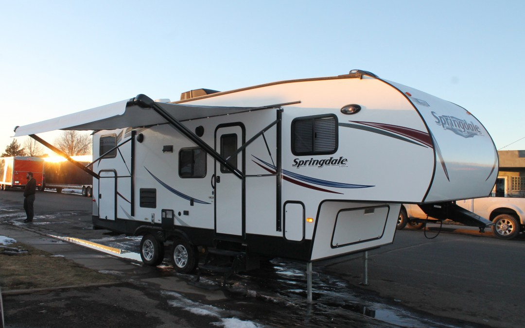 2014 Keystone Springdale Bunk House Camper Travel Trailer