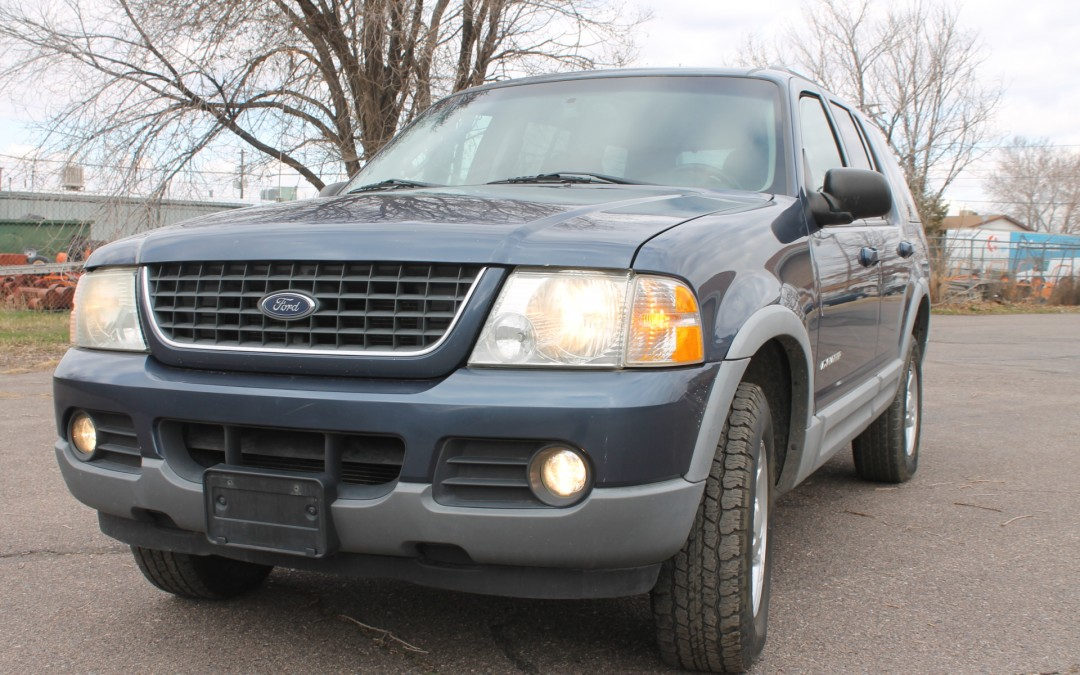 2002 ford explorer xlt auto 4dr suv tow package for sale. Black Bedroom Furniture Sets. Home Design Ideas