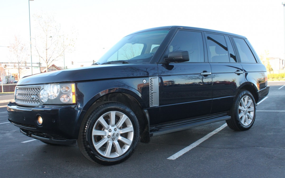 2006 land rover range rover hse supercharged sports suv. Black Bedroom Furniture Sets. Home Design Ideas