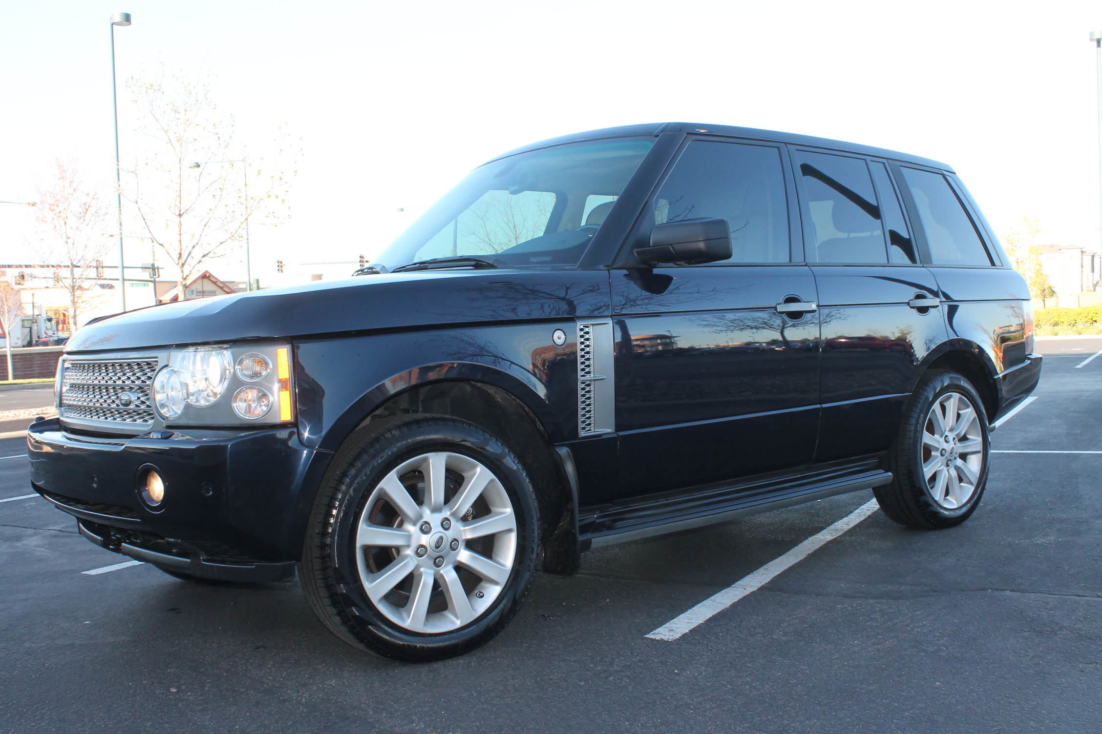 2006 land rover range rover hse supercharged sports suv for sale in denver sold. Black Bedroom Furniture Sets. Home Design Ideas