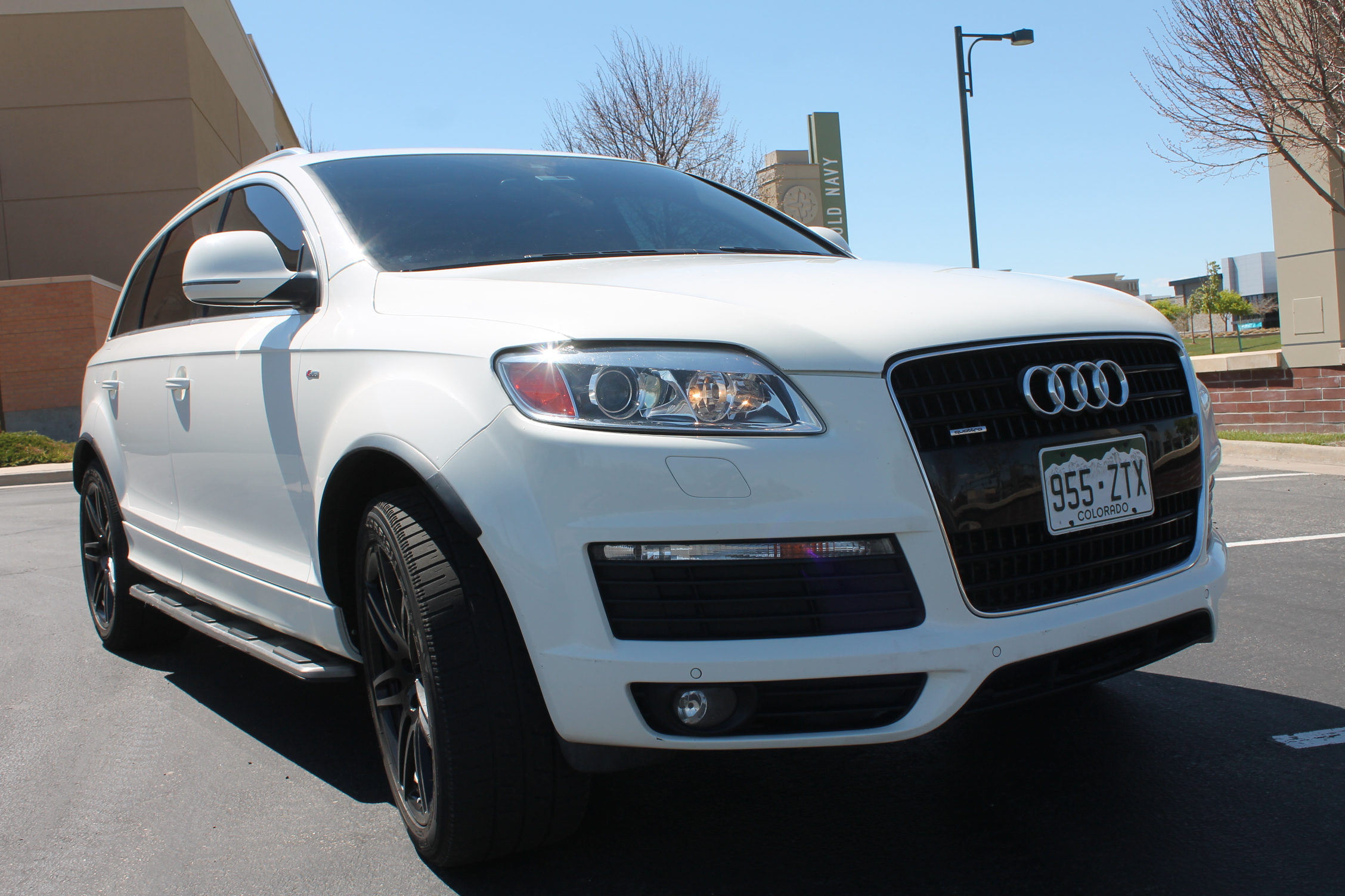 2008 audi q7 quattro suv s line xenon nav bose top of the line for sale in denver sold. Black Bedroom Furniture Sets. Home Design Ideas