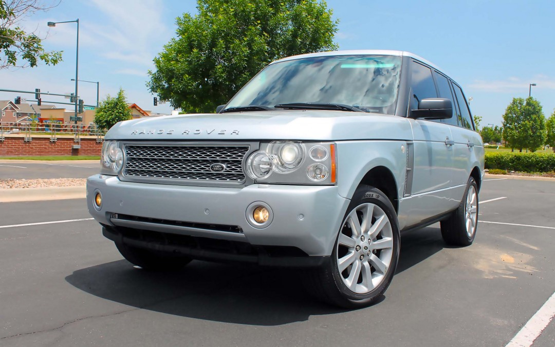 2008 Land Rover Range Rover Hse Supercharged Top Of The