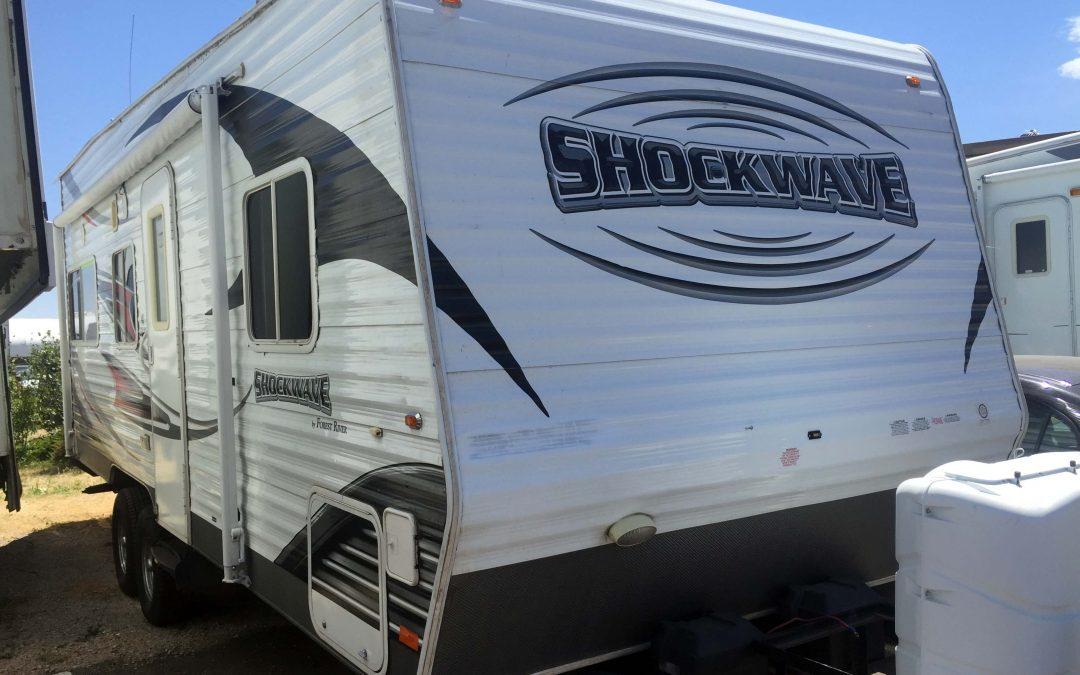 2011 Forest River Shockwave T21FS MX Bumper Pull Camper Toy Hauler Rv For Sale In Denver