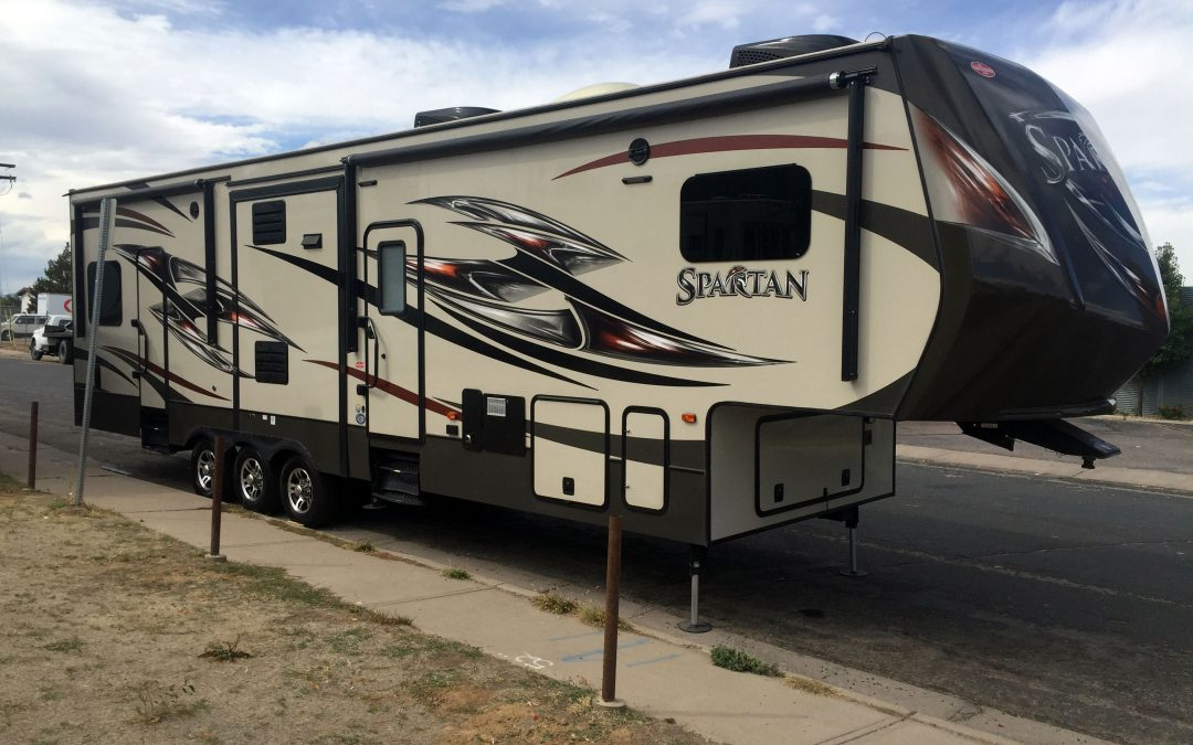Amazing Canyon 5th Wheel Travel Trailer Bunkhouse Camper For Sale In Denver