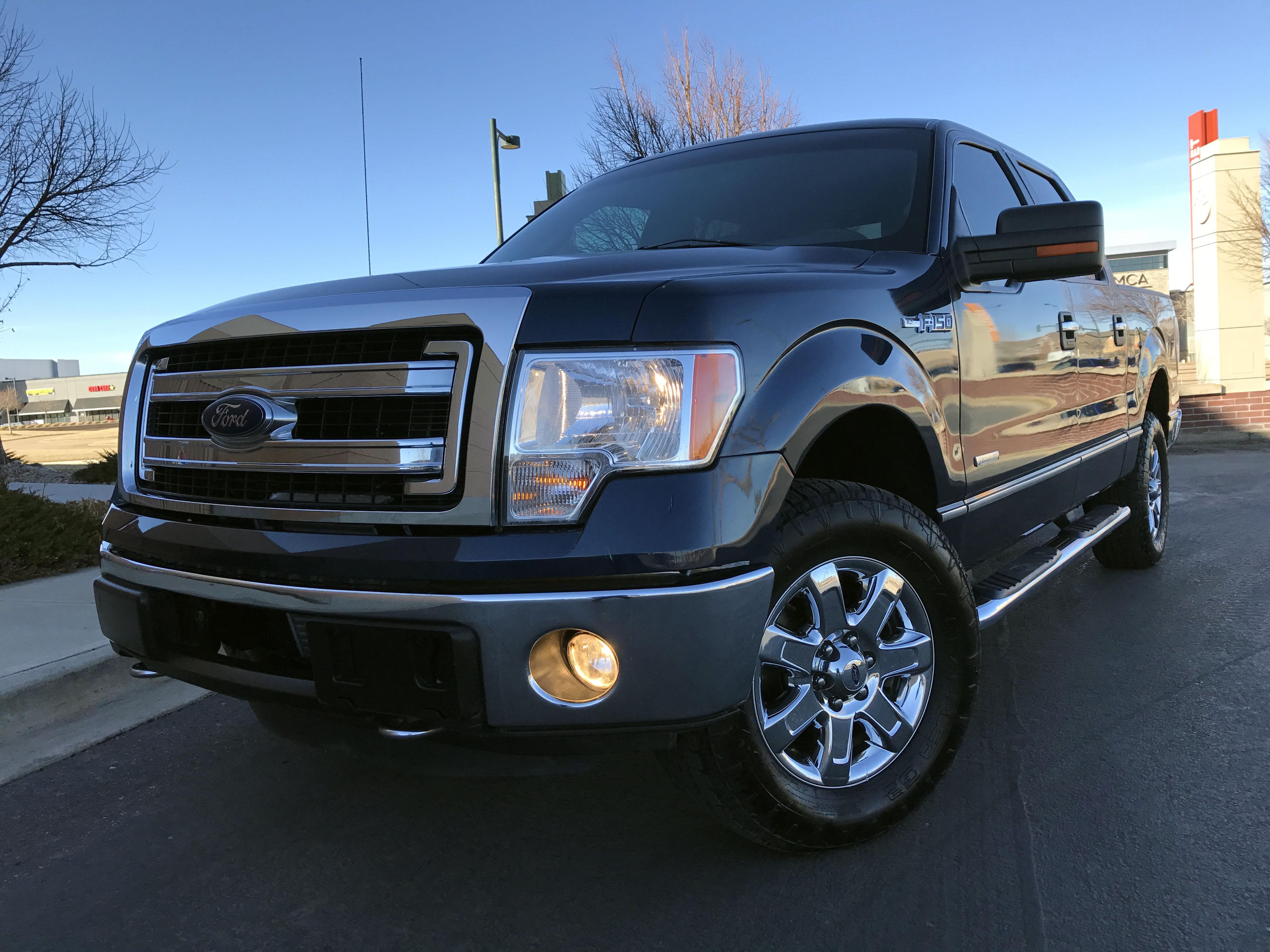 2013 ford f 150 xlt 67k super crew cab 4x4 mint pickup - 2013 ford f 150 interior accessories ...