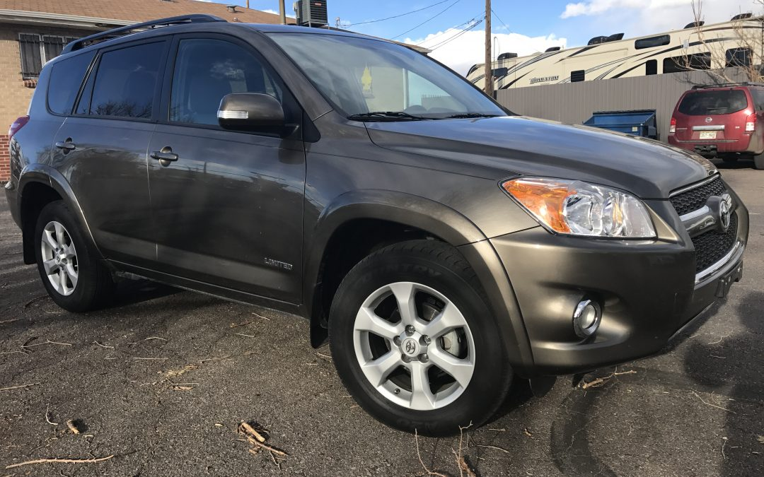 2012 toyota rav4 limited 2 5l 4wd 19k rear view camera leather for sale in denver co 18 500. Black Bedroom Furniture Sets. Home Design Ideas