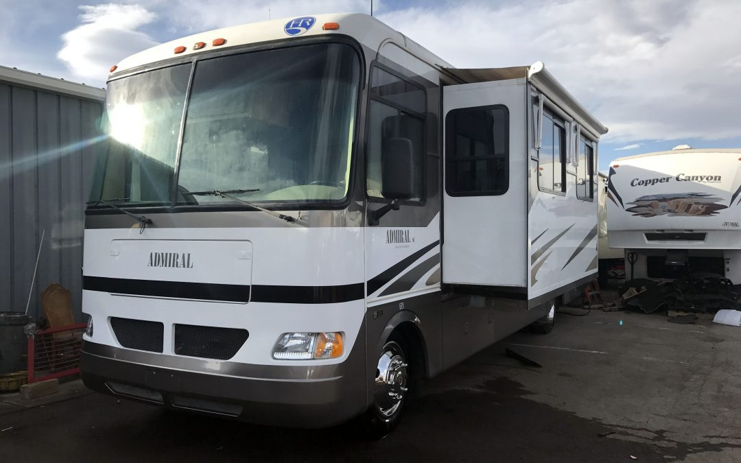 2005 holiday rambler admiral se 33pbd motorhome class a rv for sale in denver co 80022 sold. Black Bedroom Furniture Sets. Home Design Ideas