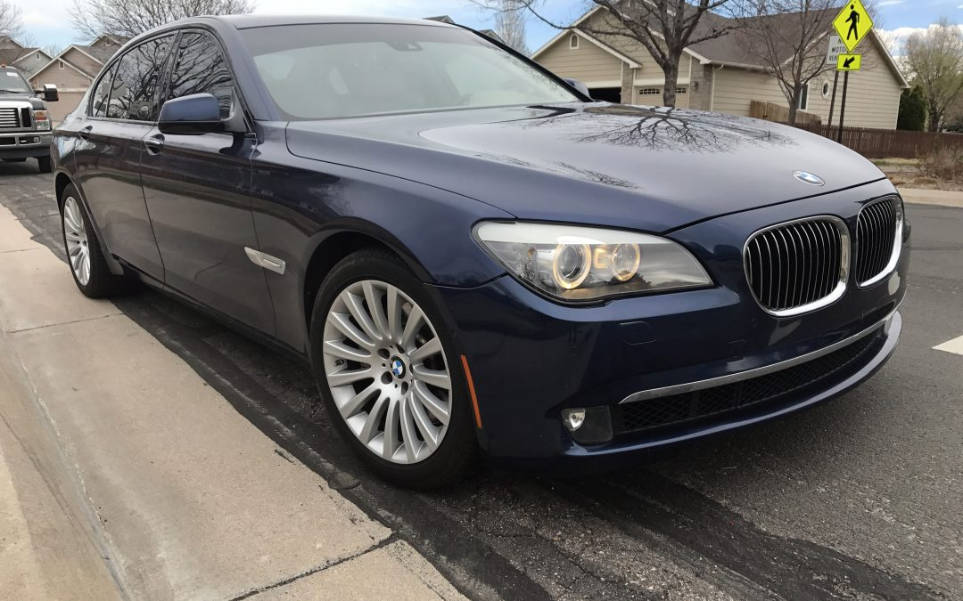 2009 bmw 750li 7 series luxury sedan rear entertainment mint loaded for sale in denver co 80022. Black Bedroom Furniture Sets. Home Design Ideas
