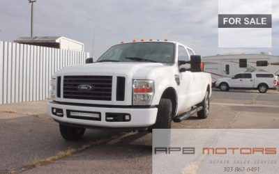 2009 Ford F250 truck Lariat CrewCab 6.4l Diesel 4×4 tow NAV for sale in Denver *** SOLD***