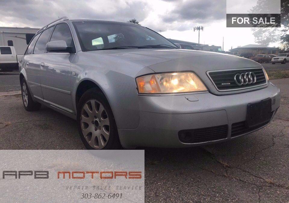 AUDI A L Quattro AWD Station Wagon SOLD - Audi repair denver