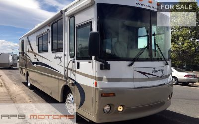 class A motorhome RV 2001 Winnebago Journey DL Diesel pusher 36LD model low miles mint for sale in Denver, CO 80022 ***SOLD***