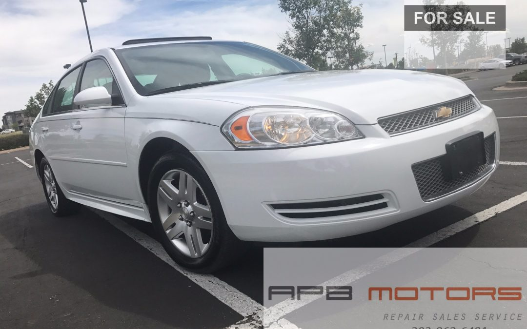 2013 Chevrolet Chevy Impala LT low miles great daily runner for sale in Denver, CO ***SOLD***