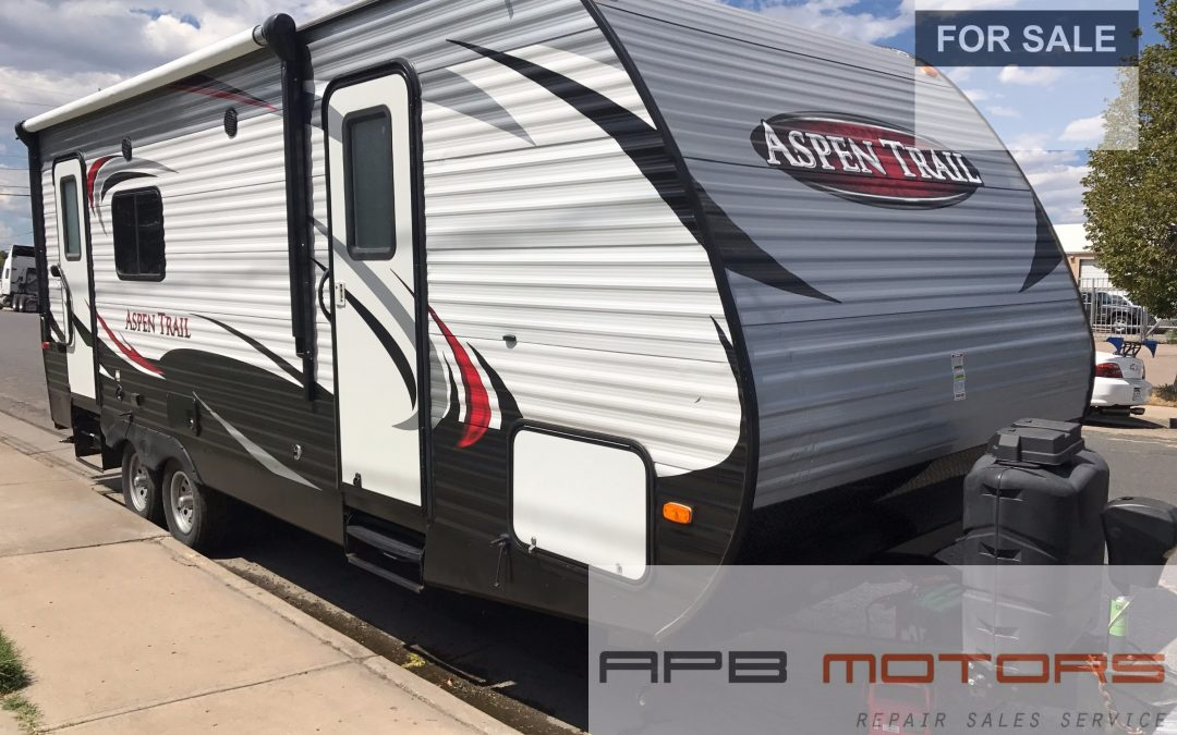 2014 Dutchmen Aspen Trail 2390RKS travel trailer camper rv bumper pull for sale in denver CO ***SOLD***
