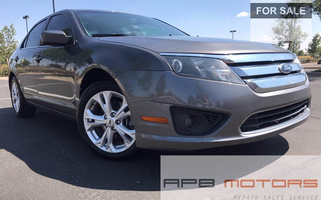 2012 ford fusion se low mileage great daily runner for sale in denver co sold collision. Black Bedroom Furniture Sets. Home Design Ideas