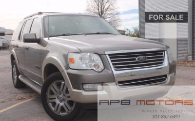 2006 Ford Explorer Eddie Bauer edition suade /leather 4×4 4.0l 3rd row for sale in Denver, CO – ***SOLD***