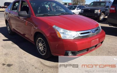 2011 Ford Focus SE Sedan Red for sale in Denver, CO 80022- ***SOLD***