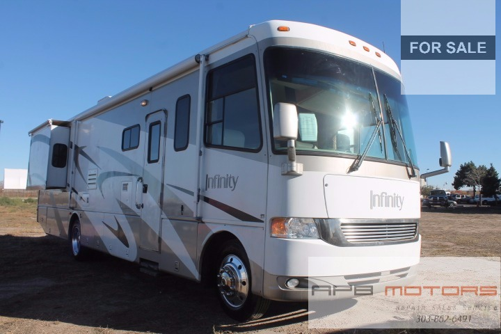 Strange 2005 Four Winds Infinity 35D Low Miles Class A Rv Motorhome Home Interior And Landscaping Ologienasavecom