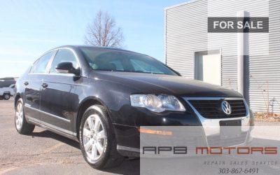 2006 Volkswagen Passat 2.0T Black Leather Interior, Hail Damage for sale in Denver – ***SOLD***