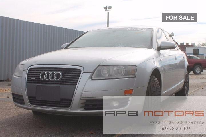 Audi A Quattro AWD Dr Sedan SOLD Collision - Audi repair denver