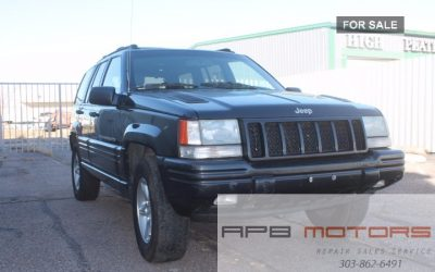 1998 Jeep Grand Cherokee 5.9L Limited AWD 4×4 for sale in Denver, CO – ***$2,100.00***