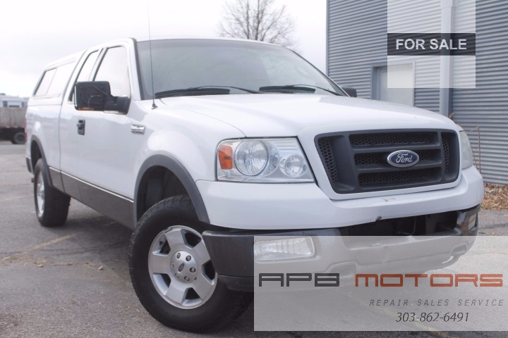 2004 Ford F-150 XLT 4dr SuperCab 4WD Styleside 8 ft. LB ...
