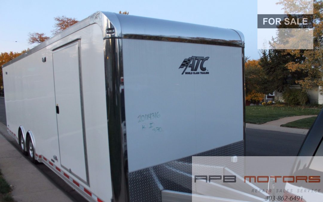 2017 ATC 28′ Car Hauler Travel Trailer for sale in Denver, CO – ***$21,800.00***