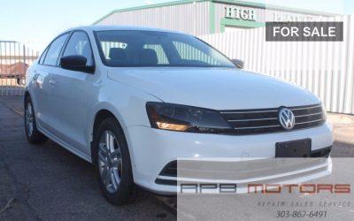 2015 Volkswagen Jetta 2.0T FWD for sale in Denver, CO – ***$SOLD***