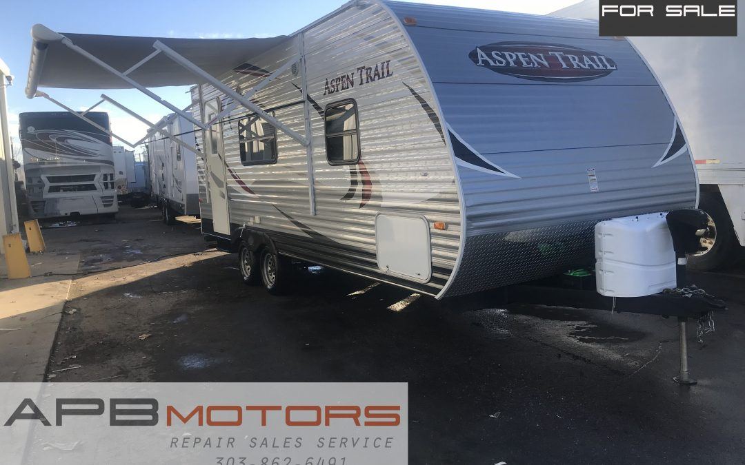 2013 Dutchmen Aspen Trail 1900RB travel trailer camper rv bumper pull for sale in Denver, CO  *** $11,500***