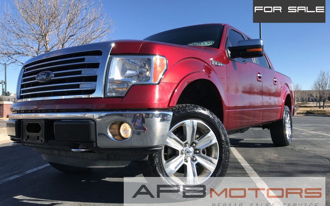 2014 Ford F-150 Lariat 4×4 pickup truck Crew Cab Rear view Camera for sale in Denver ***SOLD***