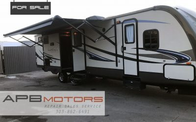 2014 Crossroads Sunset Trail Reserve series 33BD bunkhouse trailer rv ***SOLD***
