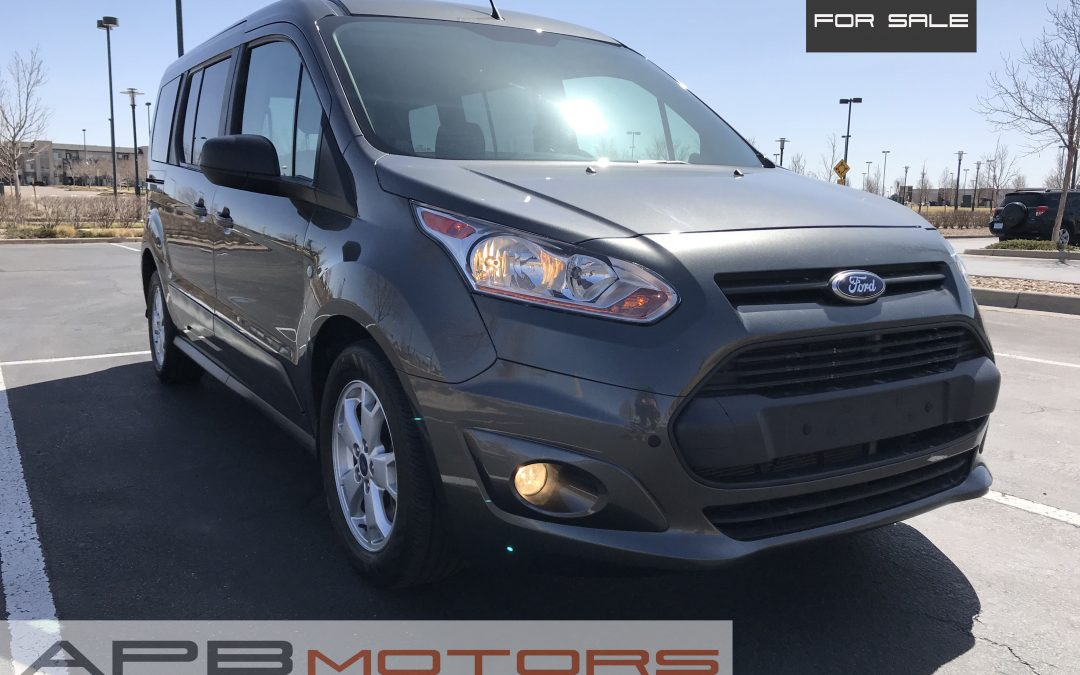 2016 Ford Transit Connect xlt passenger van for sale in Denver, CO ***SOLD***