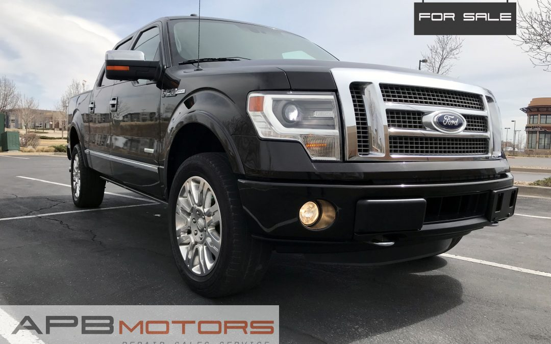 2013 Ford F-150 Platinum edition SuperCrew cab 4×4 pickup truck for sale in Denver, CO ***$26,000***