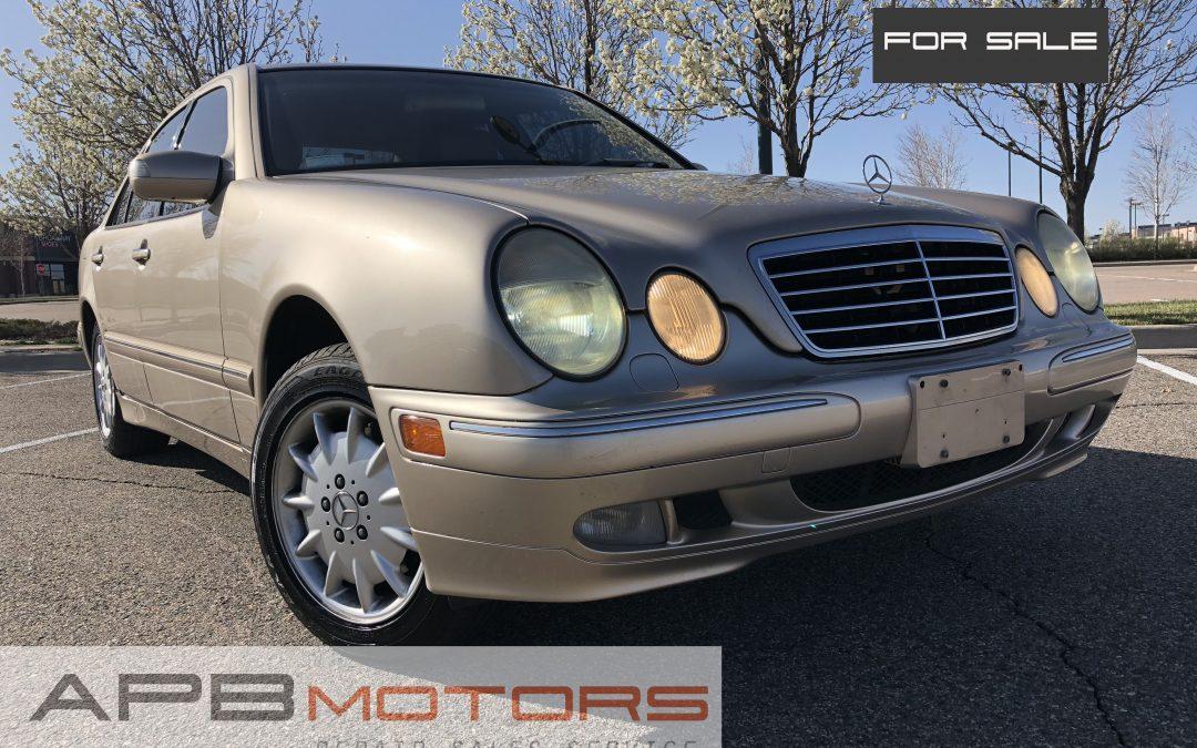 2002 Mercedes- Benz E-Class E-320 4Matic AWD for sale in Denver, CO ***$4500***