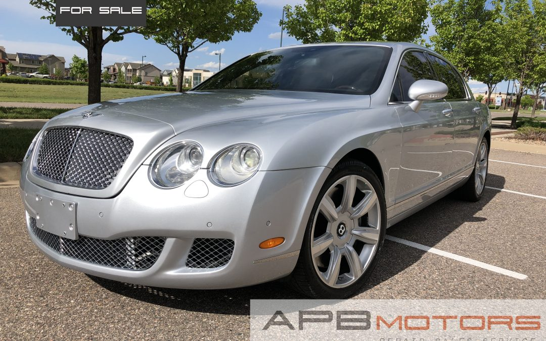 2006 Bentley Continental Flying Spur 4-door luxury sedan for sale in Denver, CO ***$31,000***