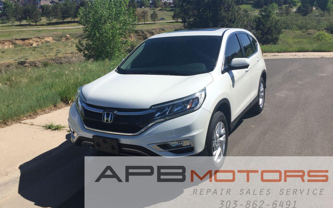 2015 Honda CR-V EX AWD SUV for sale in Denver, CO  ***SOLD***