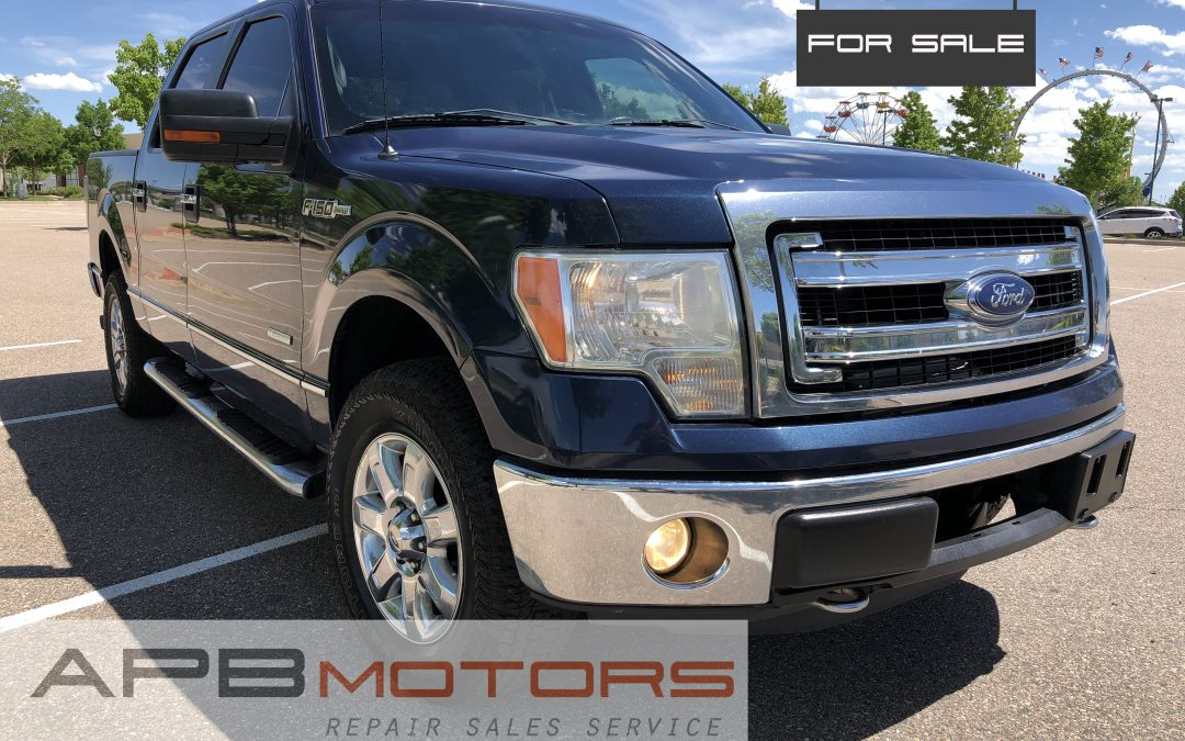 2013 Ford F-150 XLT 4×4 4dr SuperCrew Styleside 5.5 ft. SB – ***$18,500.00***
