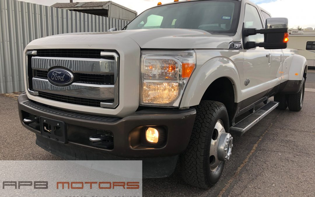 2016 Ford F-350 super duty 6.7l Diesel pickup truck King Ranch Mint – ***$44,900***