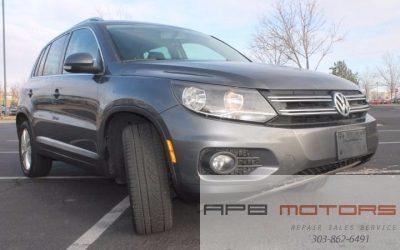 2012 Volkswagen Tiguan S 4Motion AWD 4dr SUV 2.0L I4 Turbocharger for sale in Denver, CO ***$9,999***