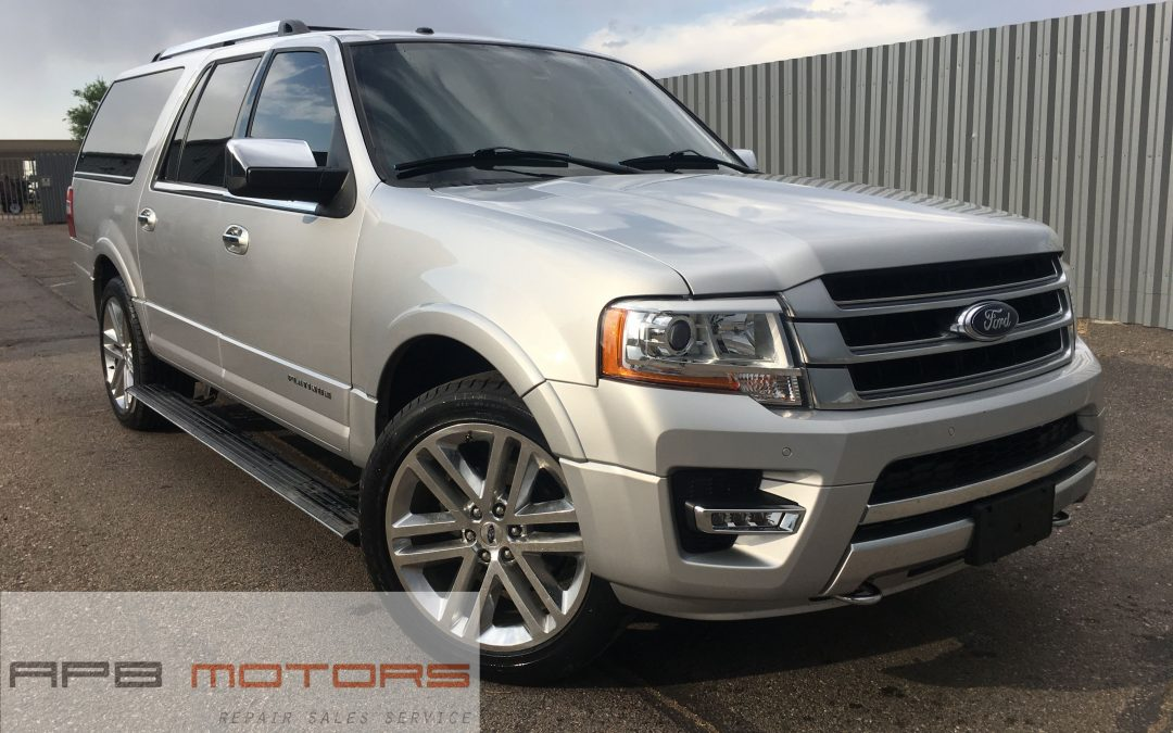 2015 Ford Expedition EL Platinum AWD – ***$28,999***