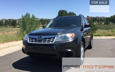 2012 Subaru Forester 2.5X AWD 4dr Wagon 4A Denver, CO – ***$10,450.00***