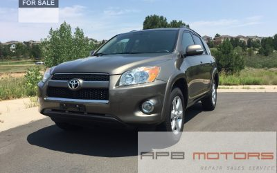 2010 Toyota RAV4 AWD Limited Tan leather interior DENVER, CO – ***SOLD***