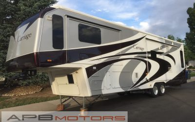 2008 Carriage Carriage M374 Luxury 5th Wheel 4 Seasons in Denver, CO ***SOLD***