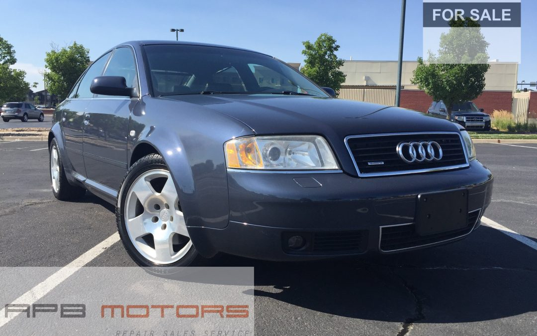 2001 Audi A6 4.2 quattro AWD 4dr Sedan Low Mileage 59k Denver, CO – ***SOLD***
