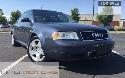 2001 Audi A6 4.2 quattro AWD 4dr Sedan Low Mileage 64k for sale in Denver, CO – ***$7,000***
