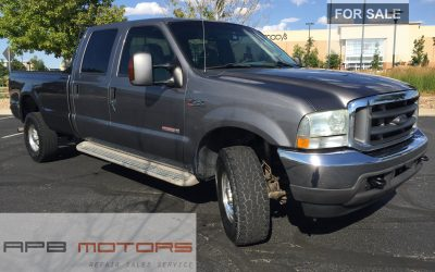 2004 Ford F-350 Lariat 4dr Crew Cab 4WD 6.0l Diesel for sale in Denver, CO ***$10,900.00***