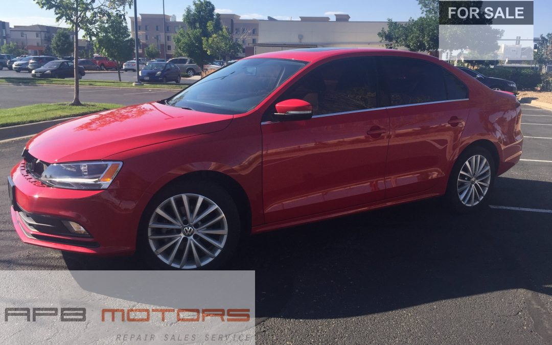 2015 Volkswagen Jetta SE 4dr Sedan 1.8L I4 Turbocharger Denver, CO – ***$12,500.00***