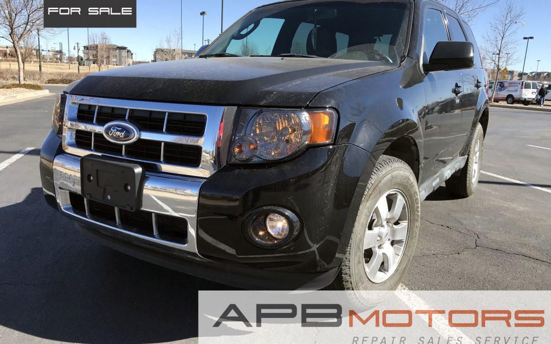 2010 Ford Escape AWD Black Leather Interior 66k mi – ***$8,500.00***