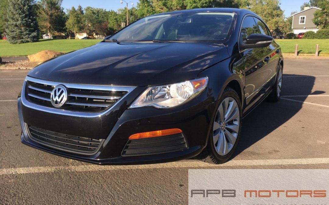 2012 Volkswagen CC Sport PZEV 4dr Sedan 6A Denver, CO – ***$9,200.00***